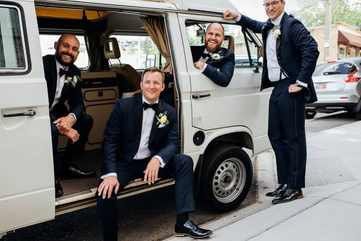 Groomsmen-Smiling-RV-Photo-Ideas-Salt-Lake-City