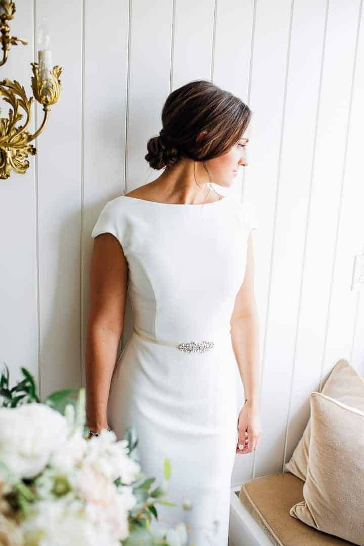 Sleek-White-Modest-Dress-Utah