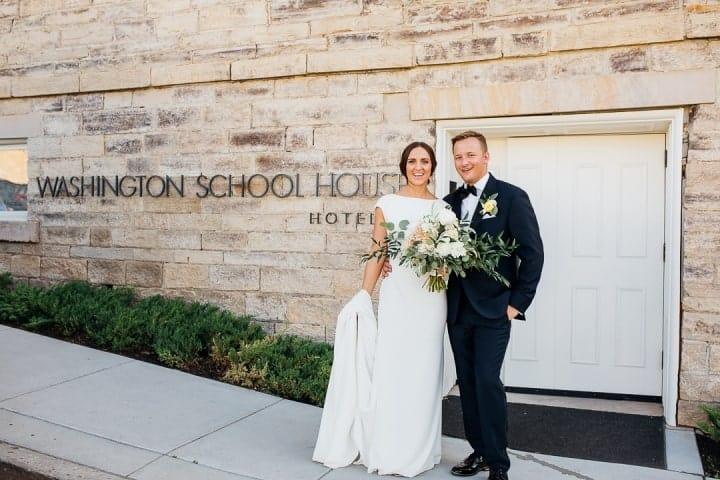 Classic-Bride-Groom-Look-Utah-Wall
