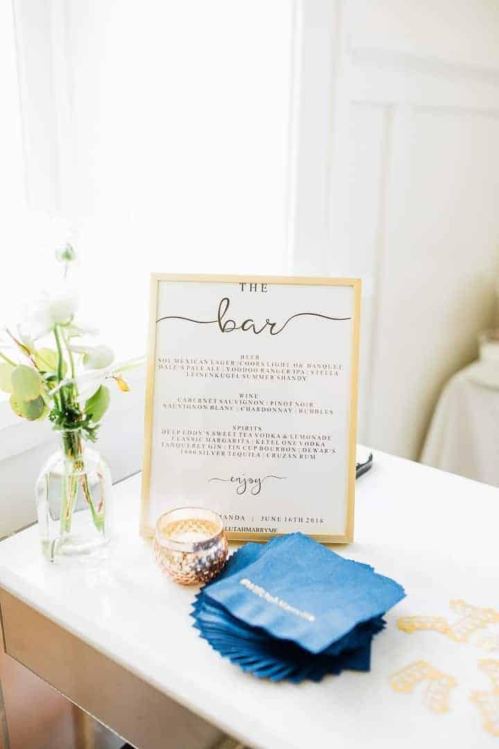 Bright-Sleek-Wedding-Bar-Menu