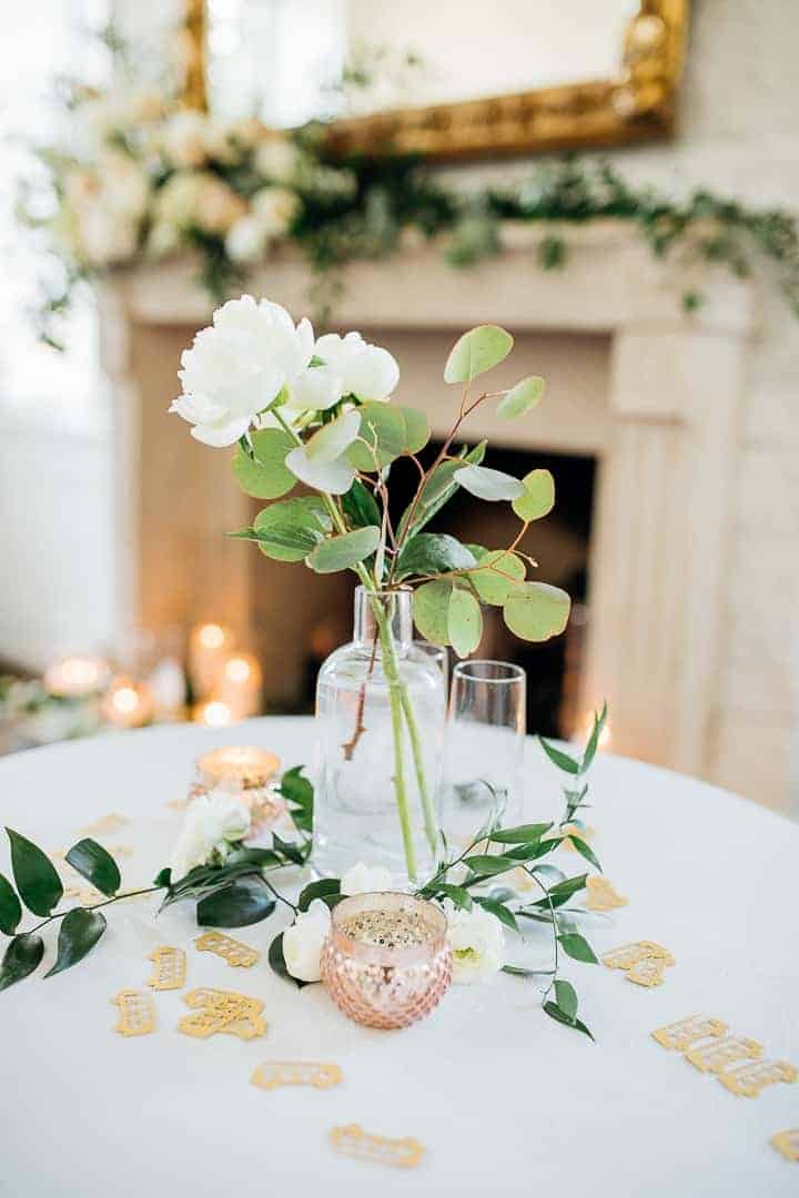 Luncheon-Wedding-Center-Piece-Floral-Decor
