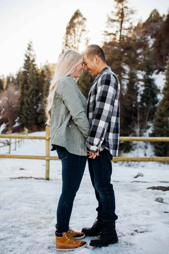 Beautiful-Romantic-Engagement-Shot-Provo-Utah