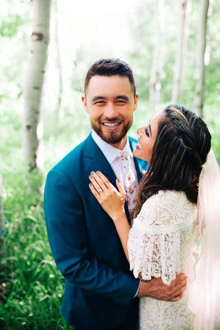 Sleek-Wedding-Dress-Details-Provo-Canyon-Utah