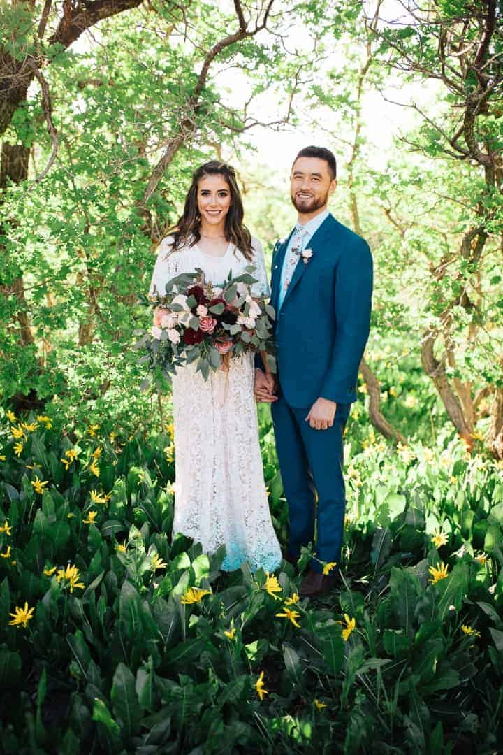 Bright-Green-Provo-Canyon-Wedding-Formals