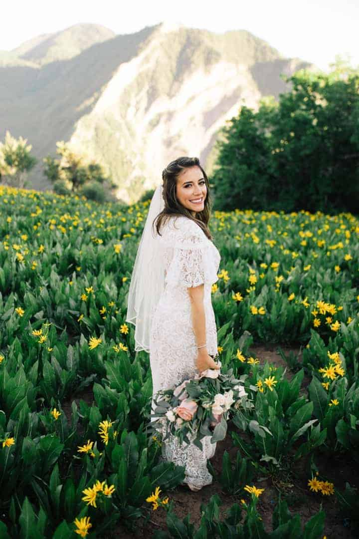 Bright-White-Wedding-Dress-Provo-Canyon-Look