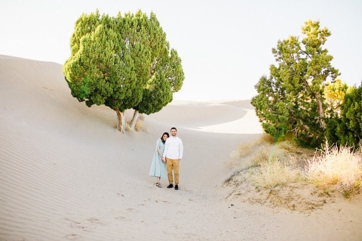 Bright-Green-Trees-Utah-Engagement-Session