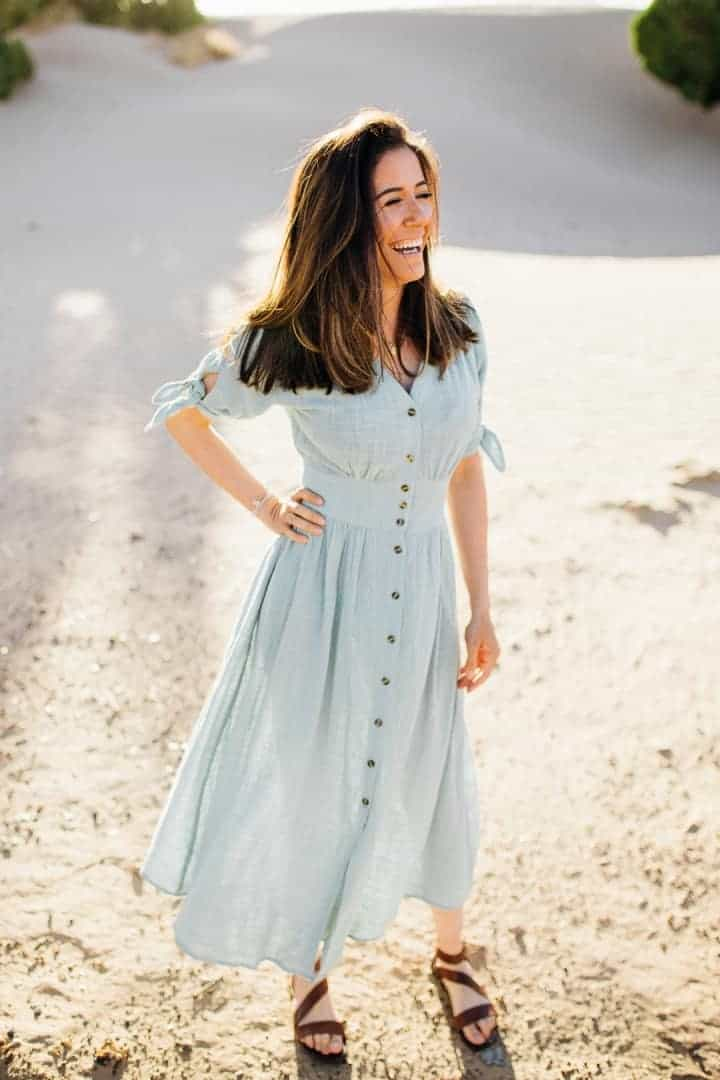Light-Blue-Engagement-Dress-Utah