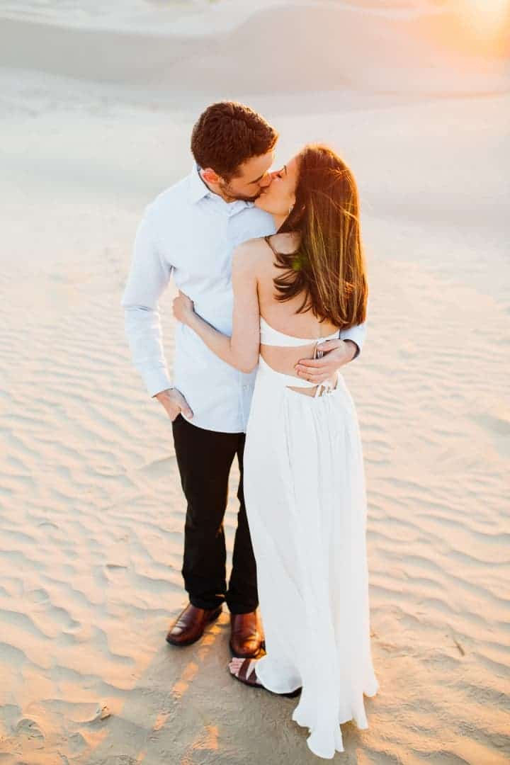 Romantic-Engagement-Couple-Kisses-Nephi-Utah