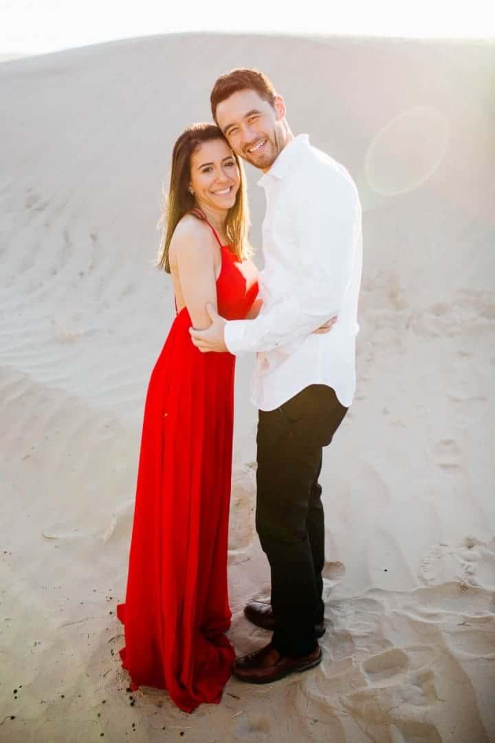 Sleek-Red-Engagement-Dress-Utah