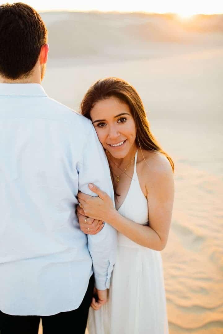Bright-White-Engagement-Dress-Little-Sahara-Desert-Utah