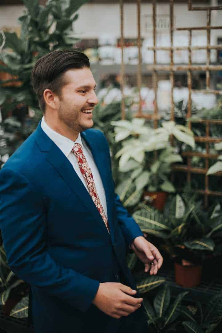Navy-Blue-Tux-Floral-Tie-Utah