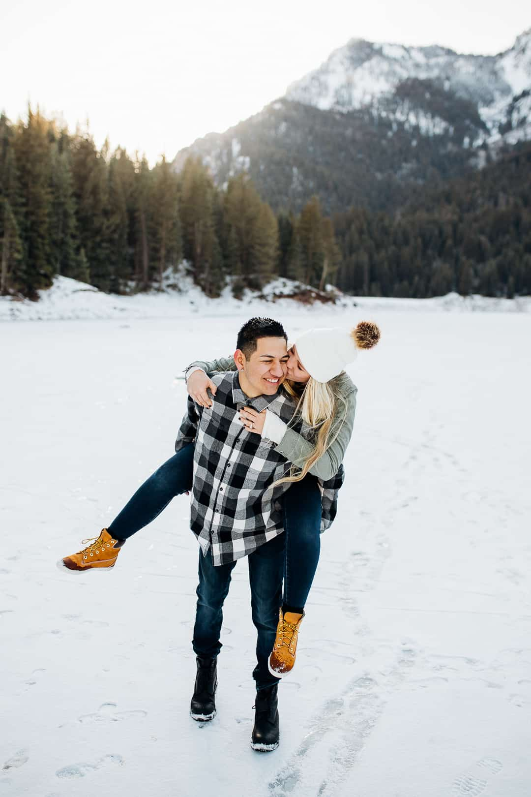 Romantic Engagement Photography in Tibble Fork