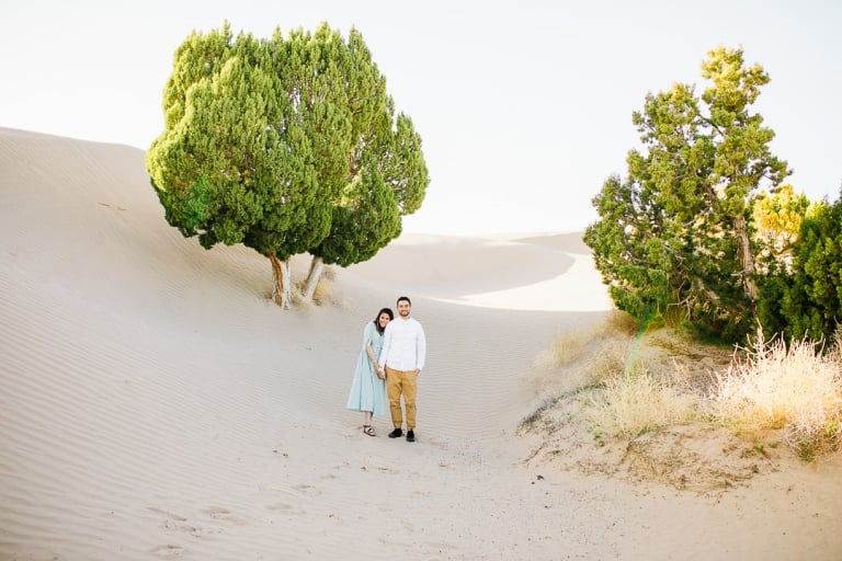 Lovely engagements in the sand