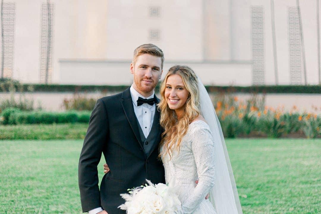 Los Angeles Temple Wedding