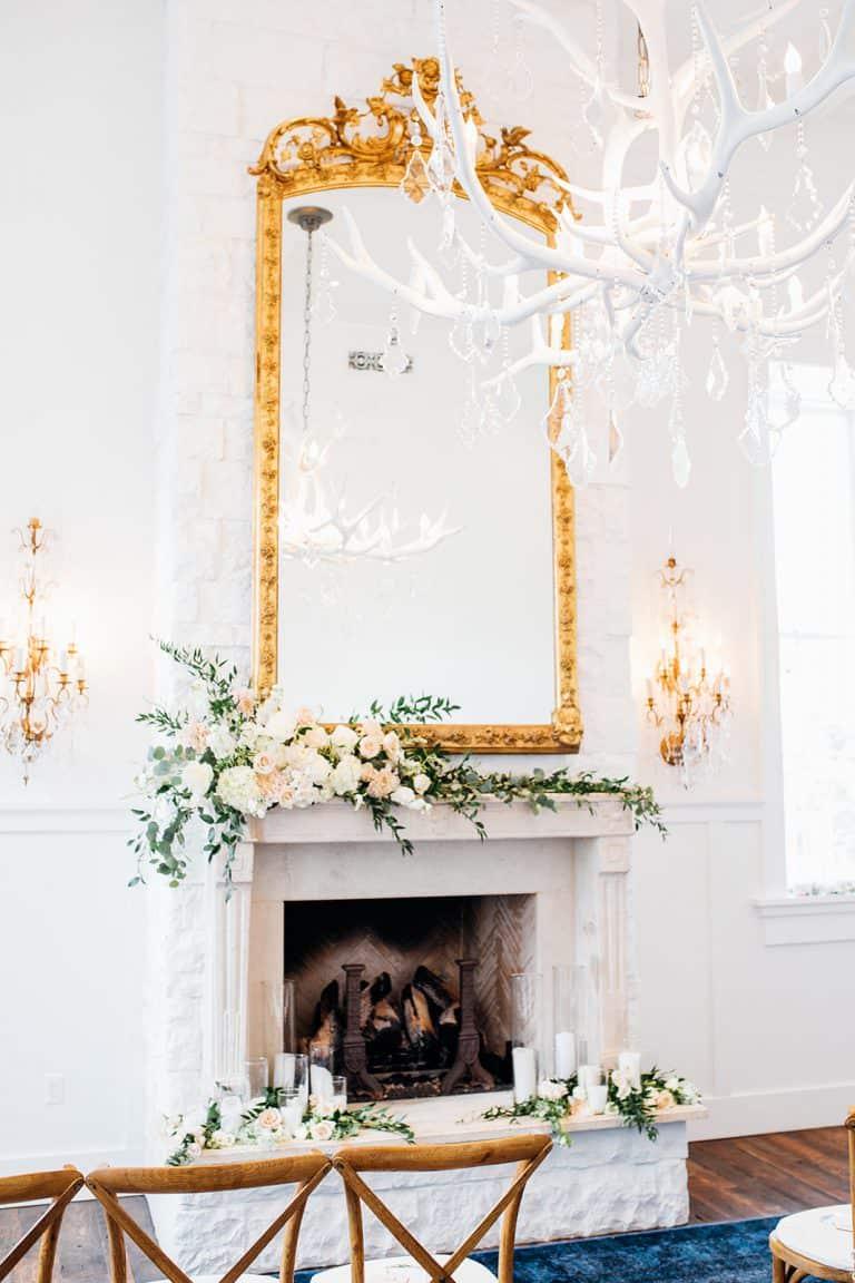 Wedding alter and decor