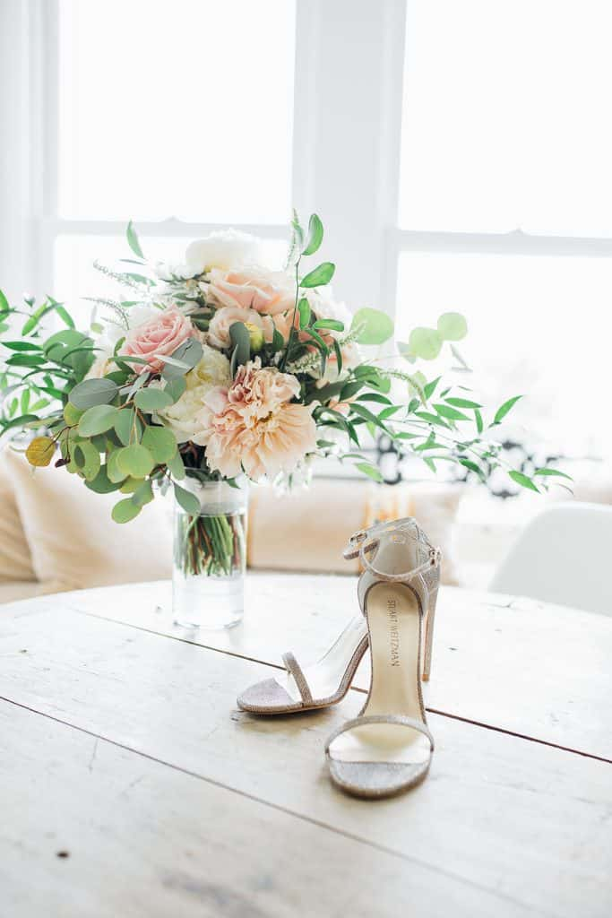 Bright and white wedding details/decor