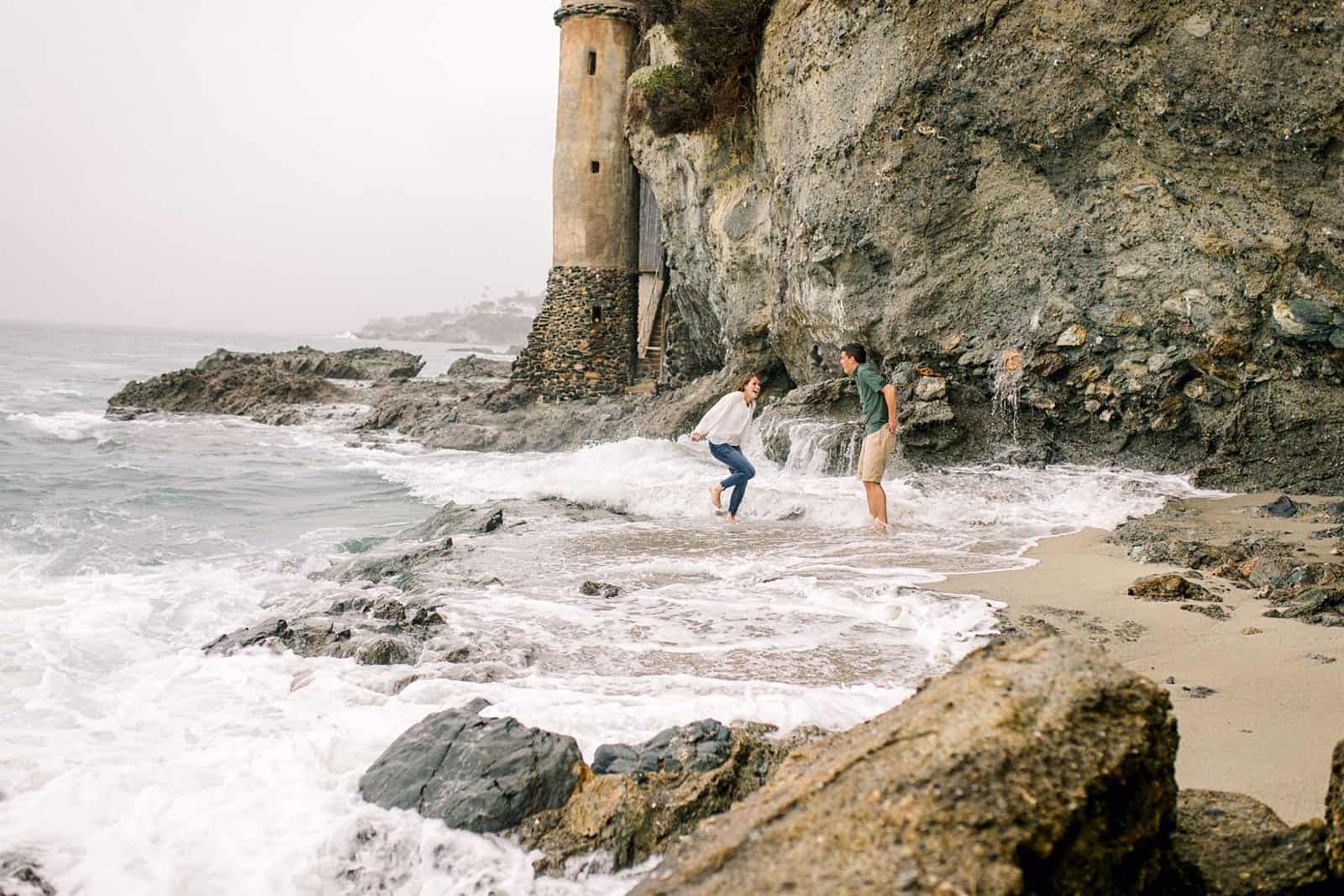 Victoria Beach Engagement Photos | Laguna Beach, California