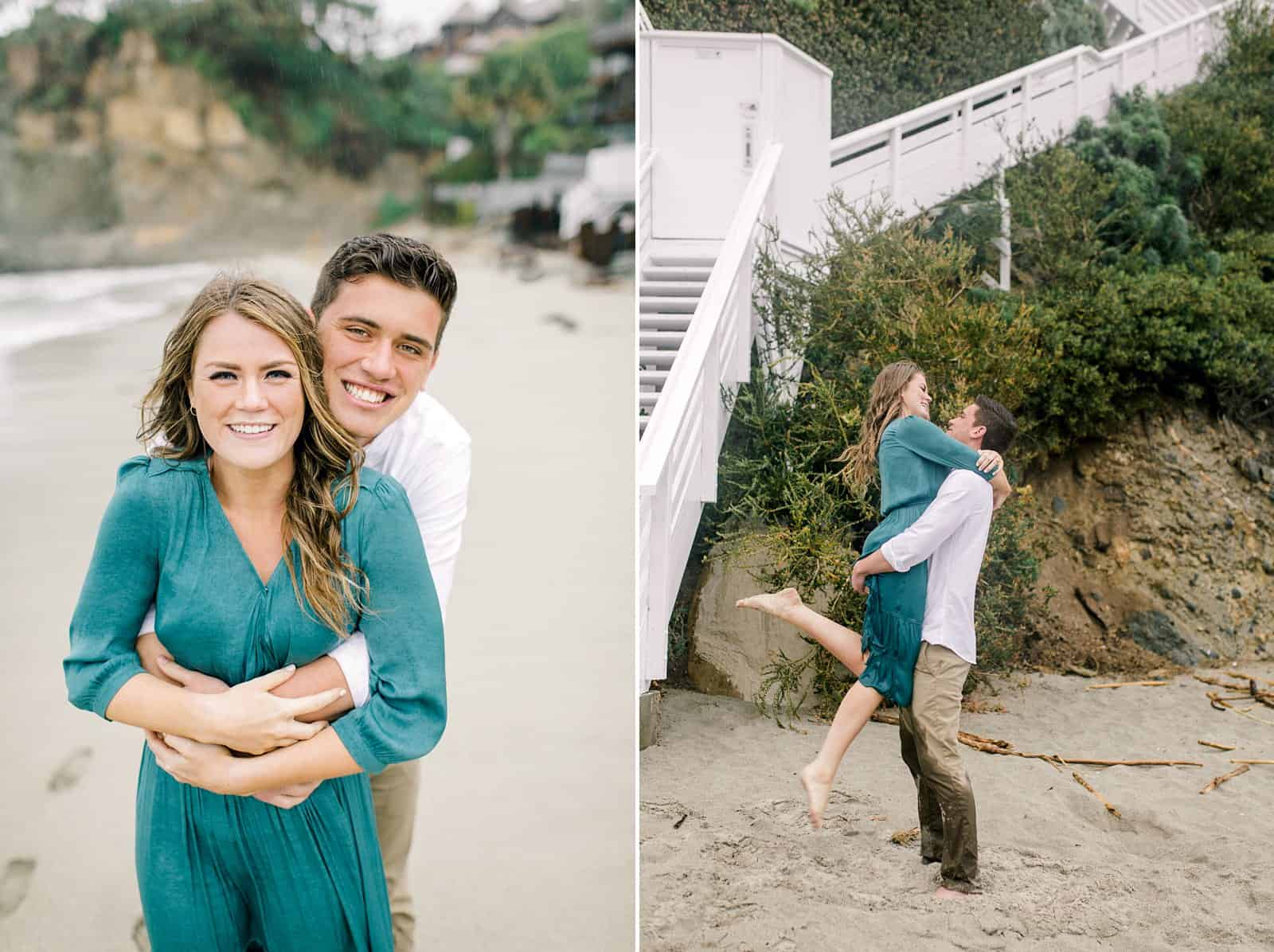 Laguna Beach engagement photos, Victoria Beach Pirate Tower engagement session, beach engagement pictures, destination wedding photographer, travel photographer