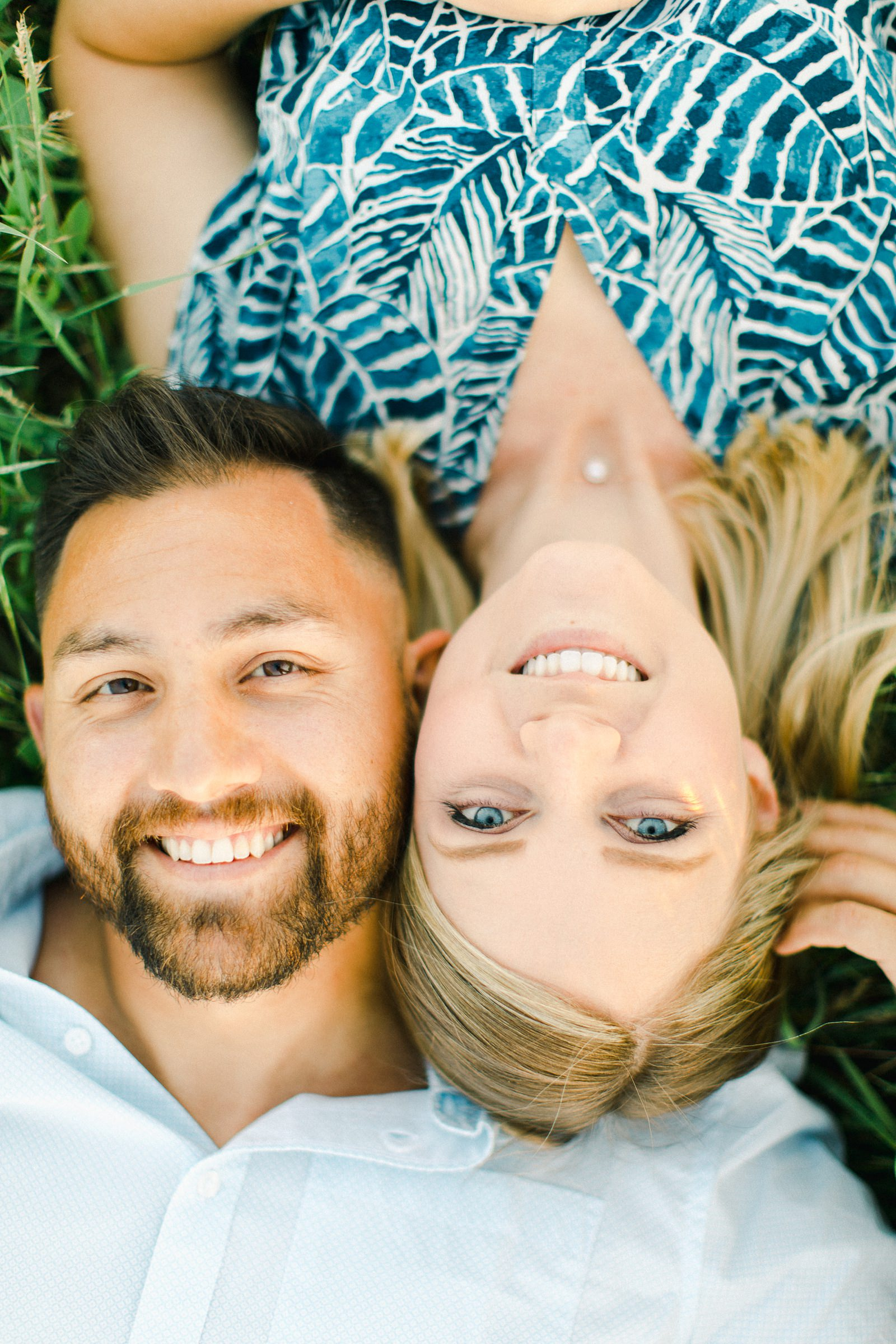 Tunnel Springs Park Salt Lake City Engagement Session, Utah wedding photography, close up of couple's faces