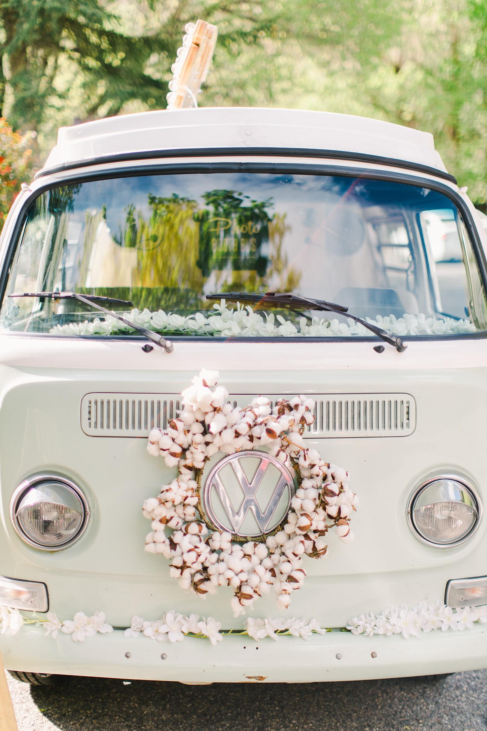 Millcreek Inn Summer Wedding, Utah wedding photography Millcreek Canyon, Salt Lake City, vintage VW bus photo booth