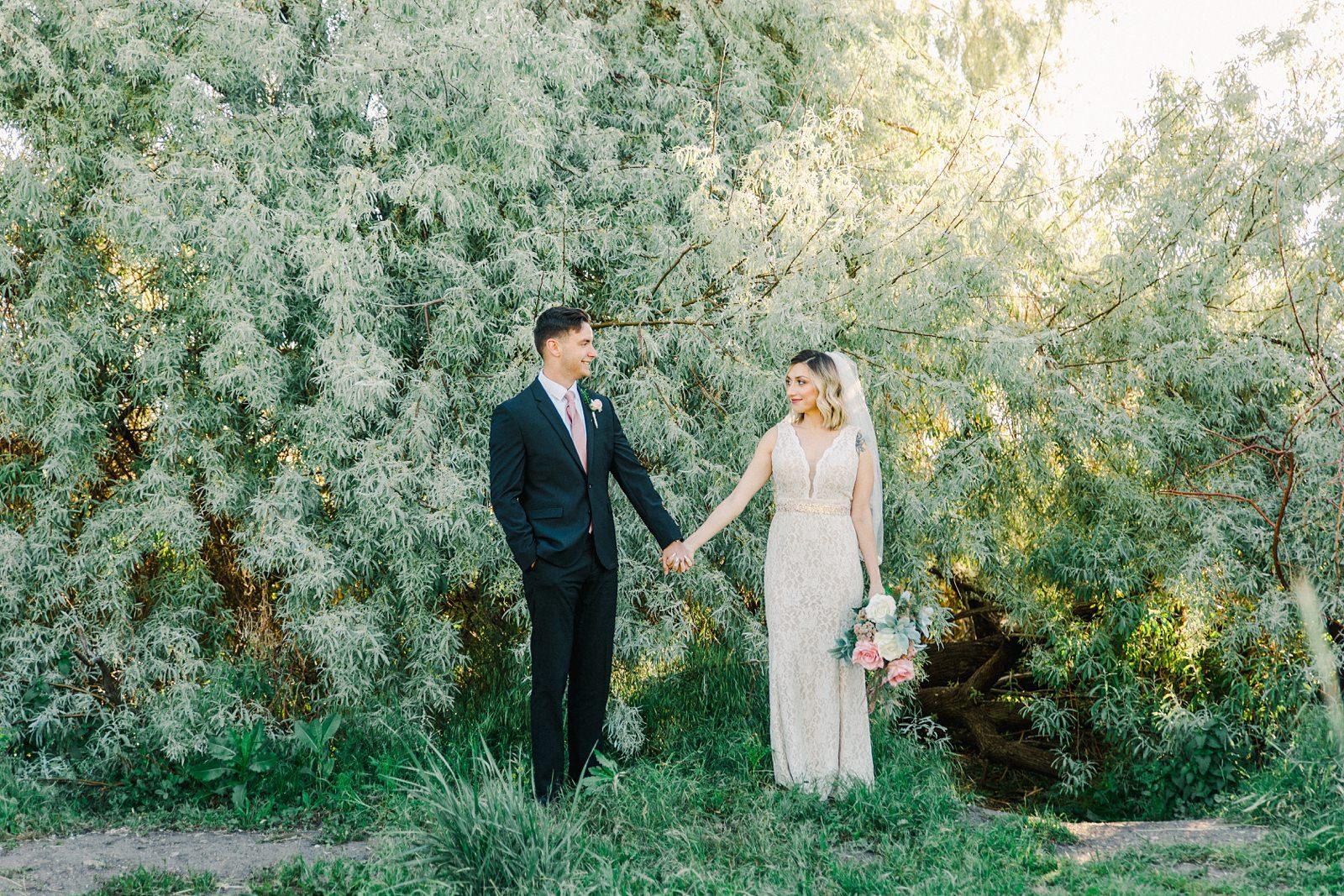 Sunset Bridal Session at Tunnel Springs Park | Salt Lake City