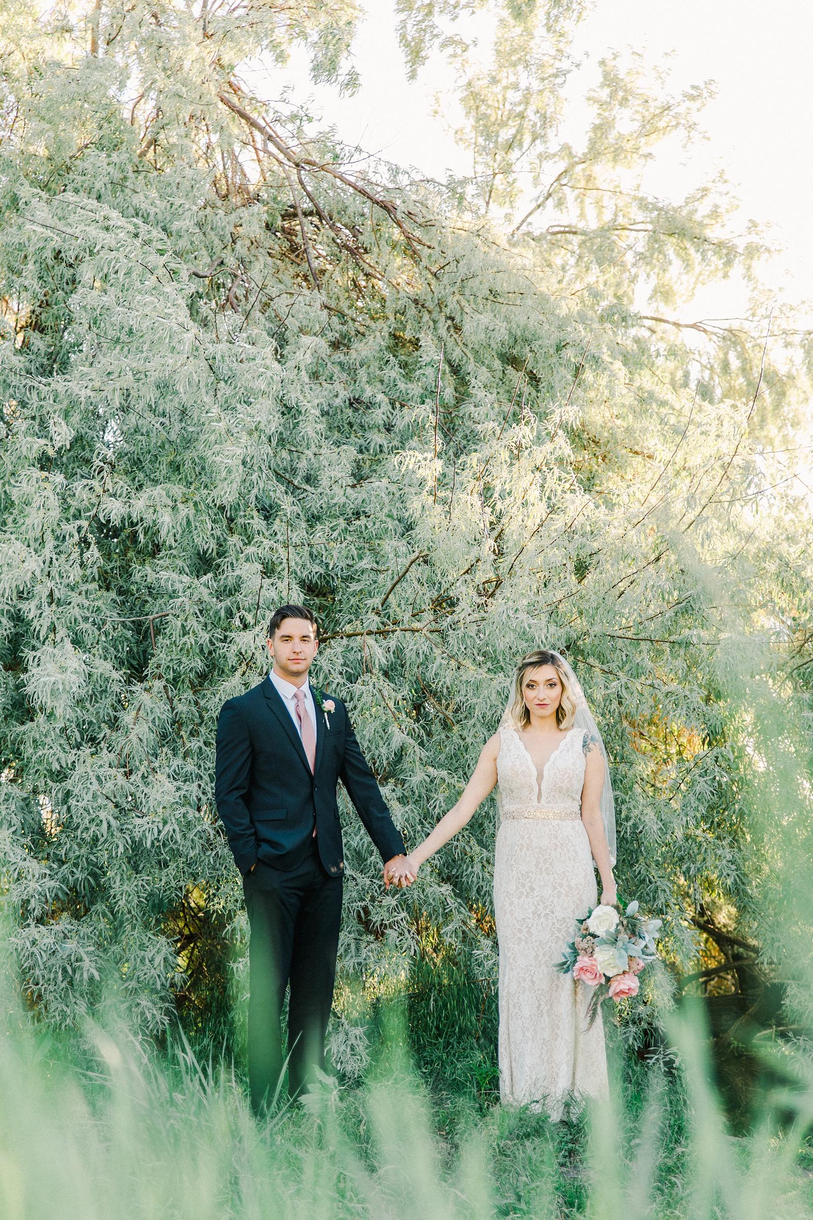 Salt Lake City Utah Bridal Wedding Photography, Tunnel Springs Park, bride and groom
