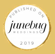 Salt Lake City wedding videography magazine badge