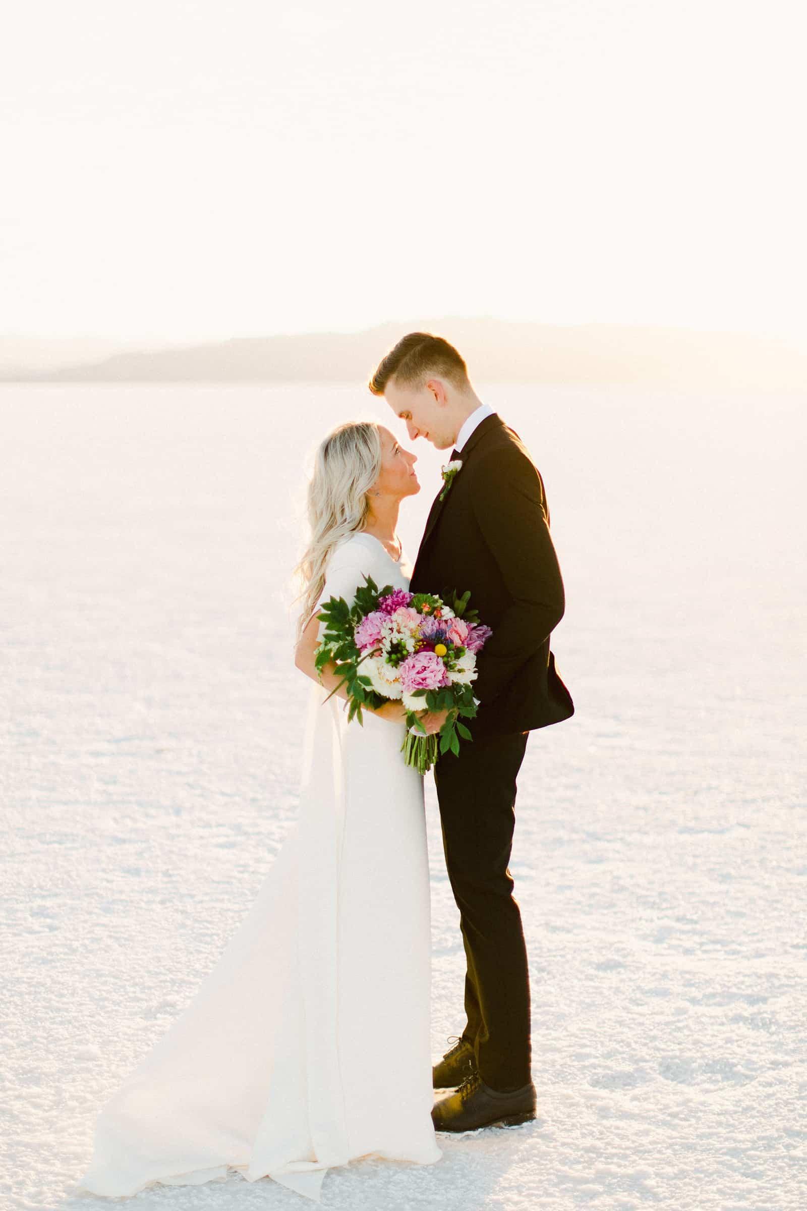 Bonneville Salt Flats Utah Wedding Photography, destination wedding