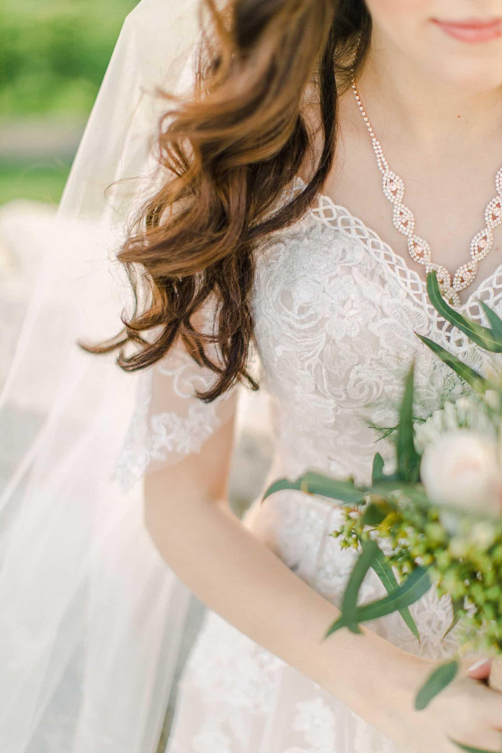 Palestinian Iranian Bride and Groom, Utah Wedding Photography at the Utah State Capitol, beautiful bride wedding dress long veil intricate lace