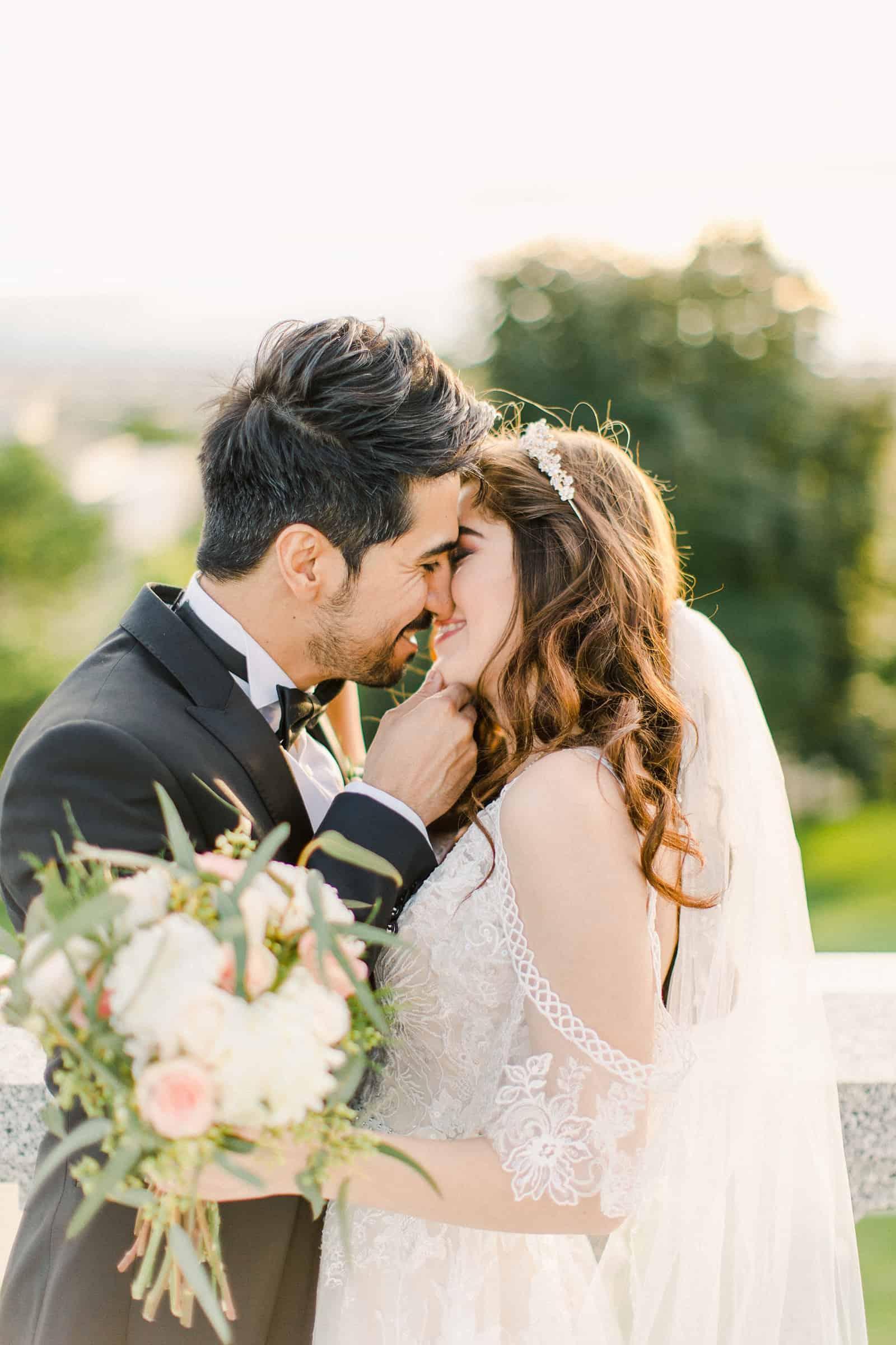Palestinian Iranian Bride and Groom, Utah Wedding Photography at the Utah State Capitol