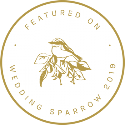 Utah wedding photography magazine badge