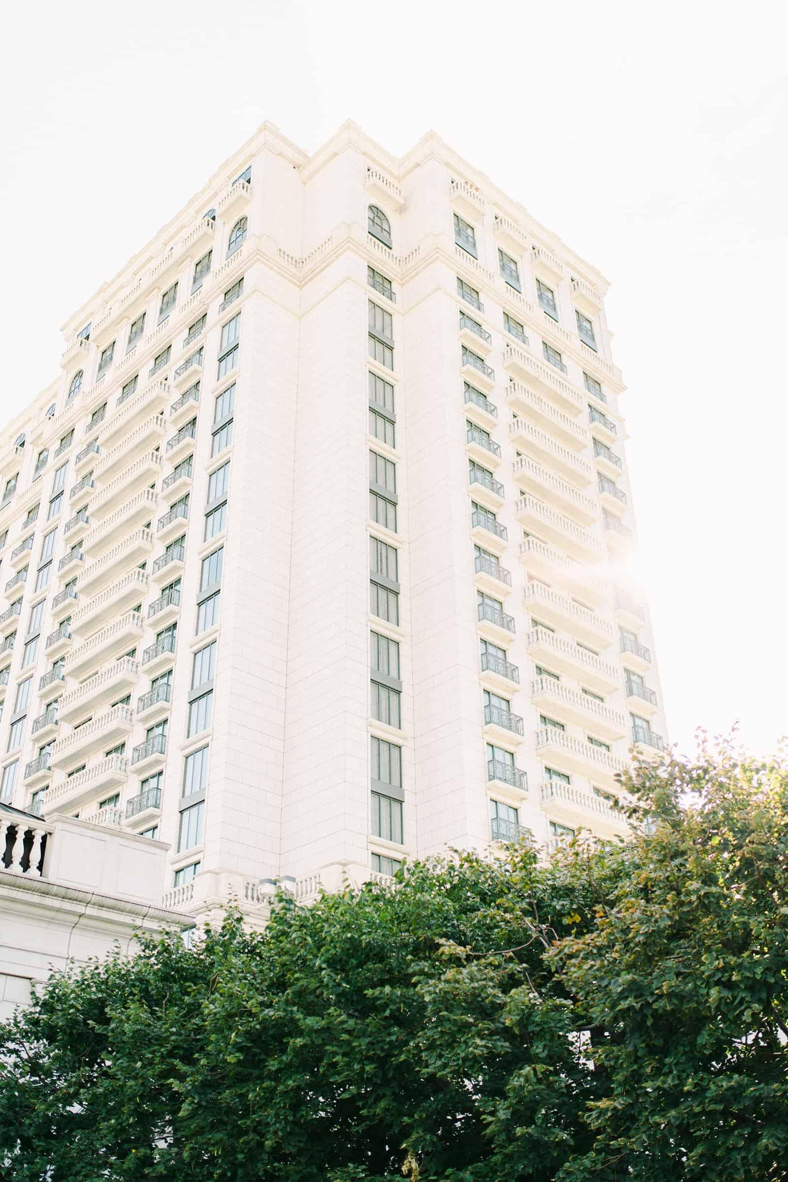 The Grand America Hotel in Salt Lake City, Utah